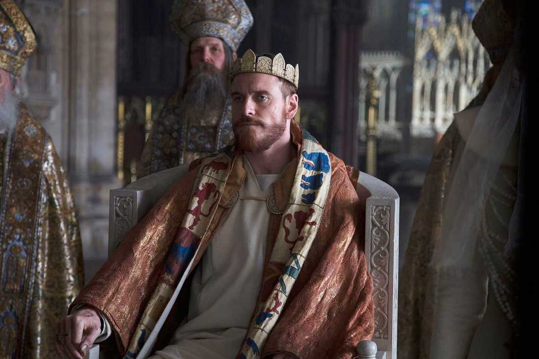 Michael Fassbender som Macbeth.