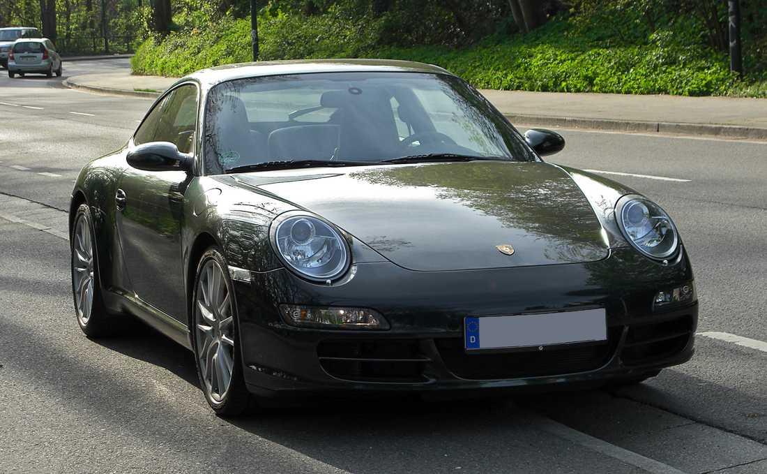 OBS! Bilden är en genrebild. Porschen på bilden är identisk med den som Schyffert äger.