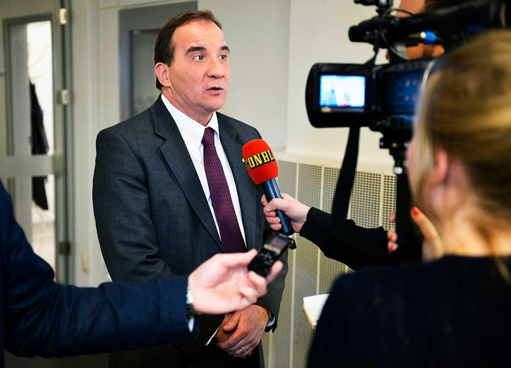 Stefan Löfven (S) och de rödgröna har nu skaffat sig det största avståndet till Alliansen sedan Aftonbladet/United minds inledde sina mätningar 2009.