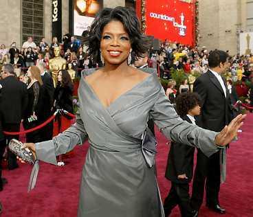 Mäktigast Oprah Winfrey är mäktigaste kändisen – enligt Forbes Magazine.