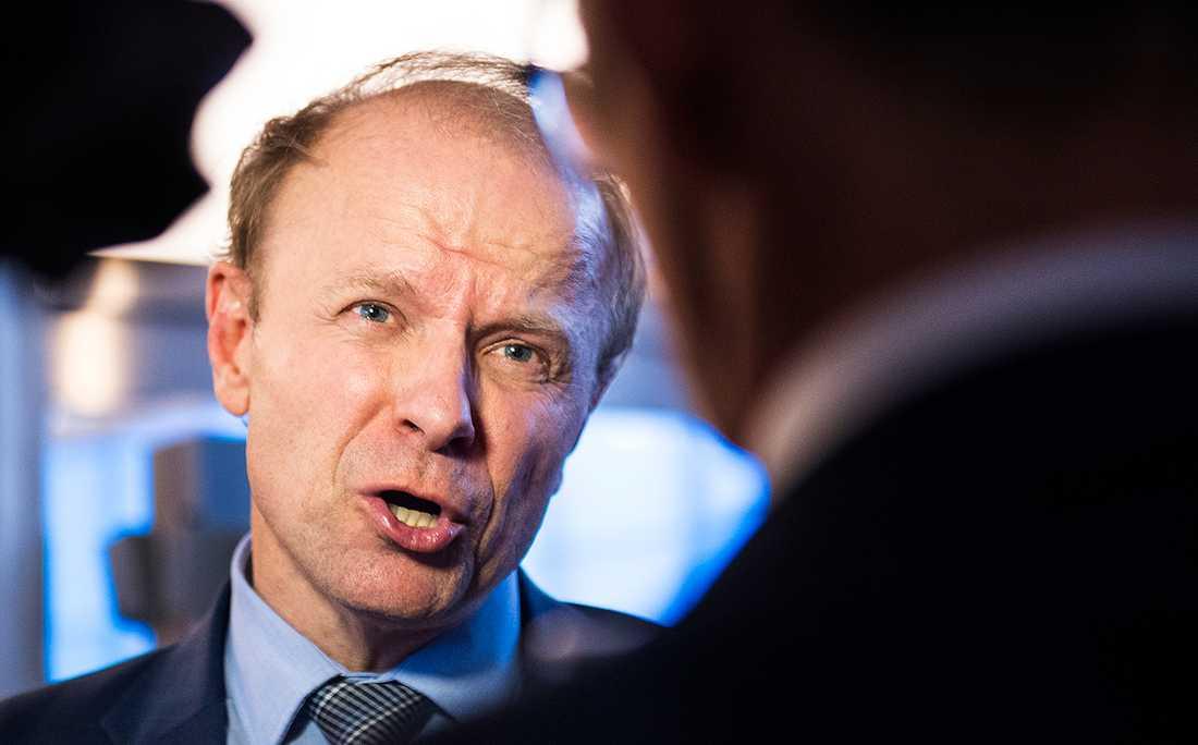 Mikael Oscarsson (KD), ledamot i försvarsutskottet.