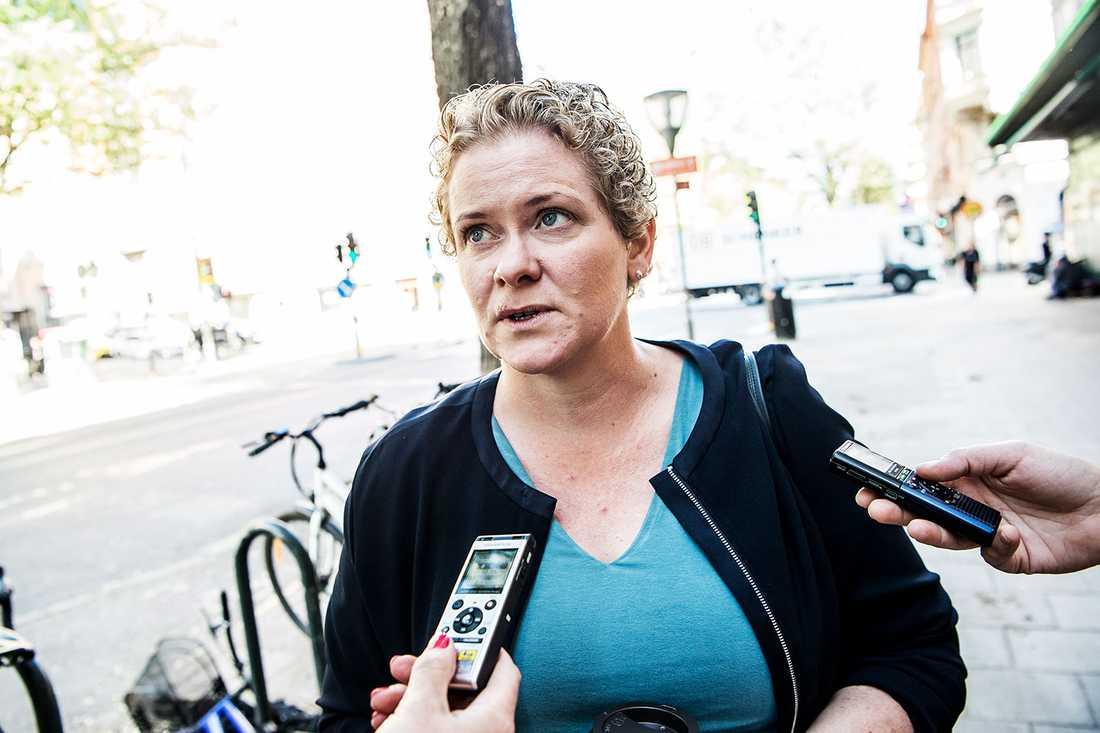 Karin Wanngård (S), finansborgarråd i Stockholm.