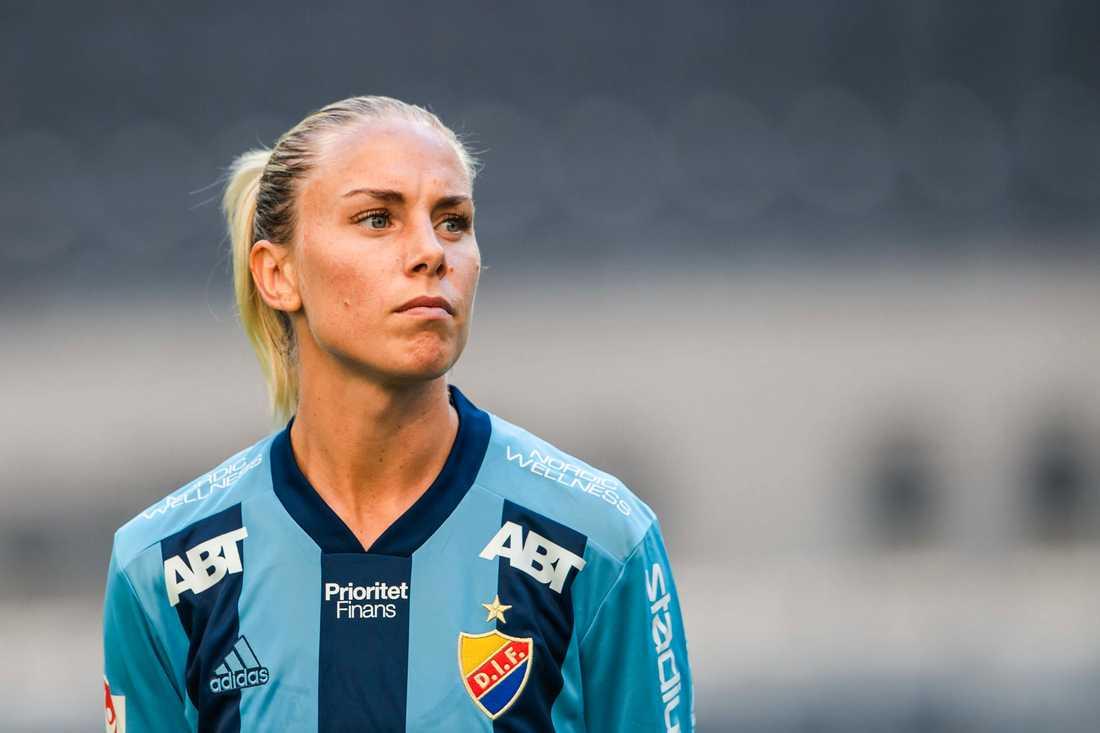 Petronella Ekroth lämnar Roma när kontraktet löper ut i sommar.