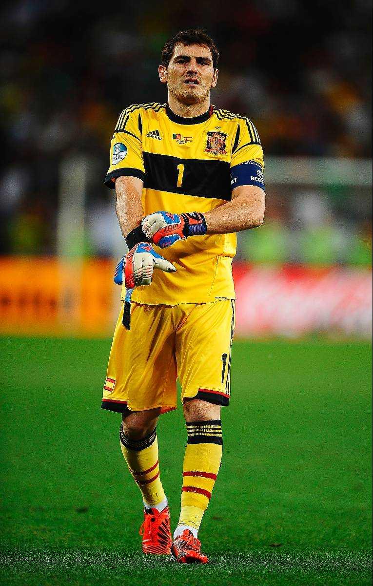 Iker Casillas.