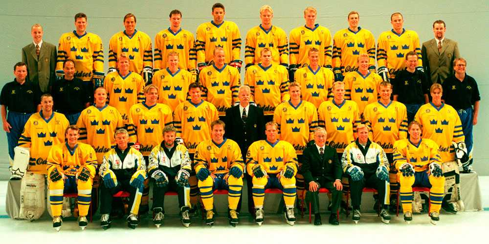 Daniel Alfredsson i svenska World Cup-laget 2006-