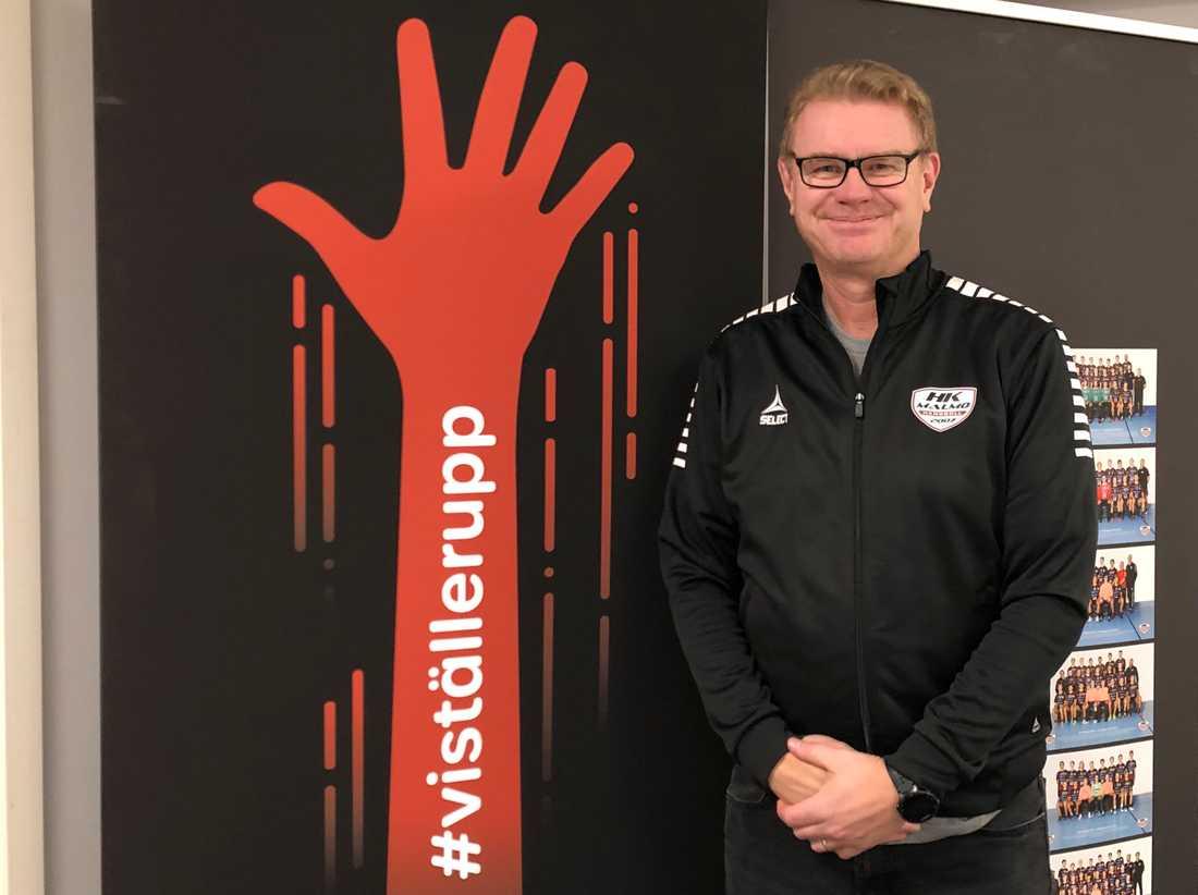 Mikael Johansson, klubbchef i HK Malmö.