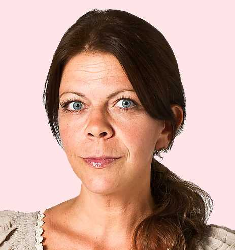 Sportbladets Jennifer Wegerup.