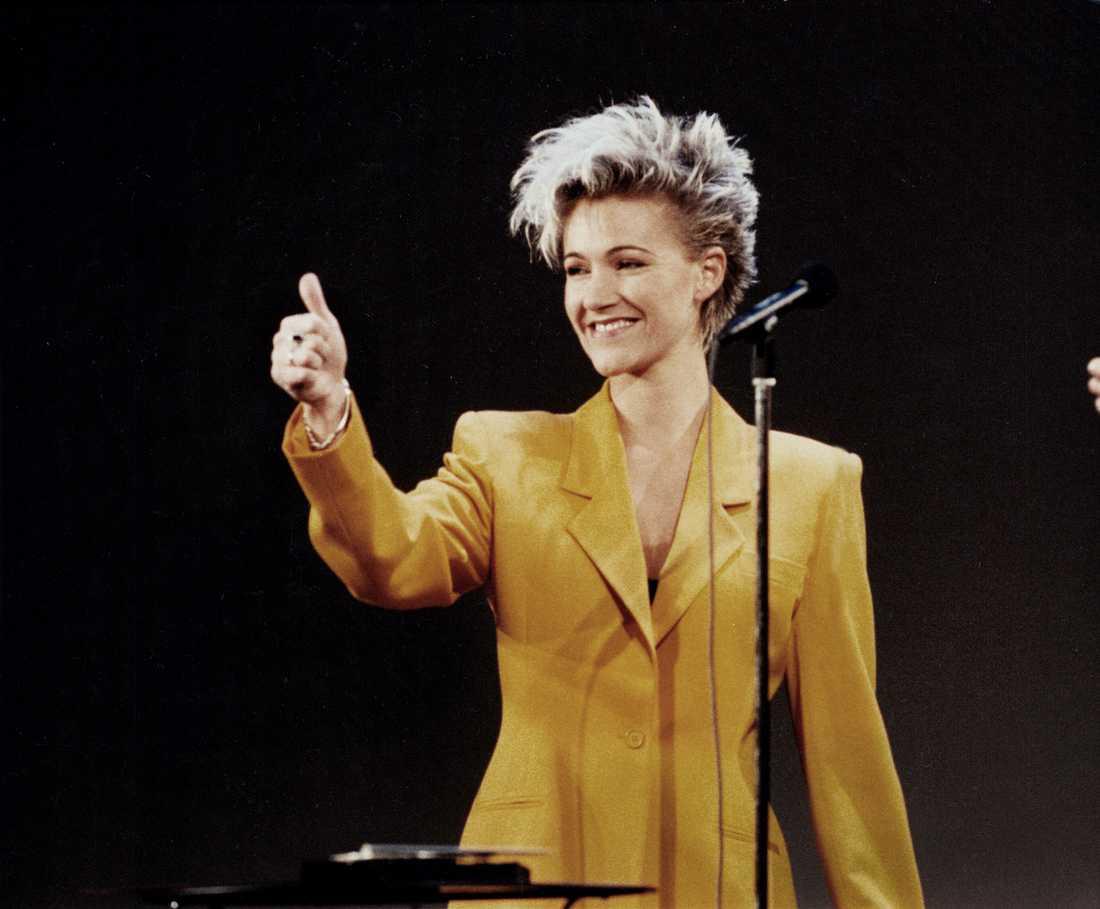 Marie Fredriksson 1990.