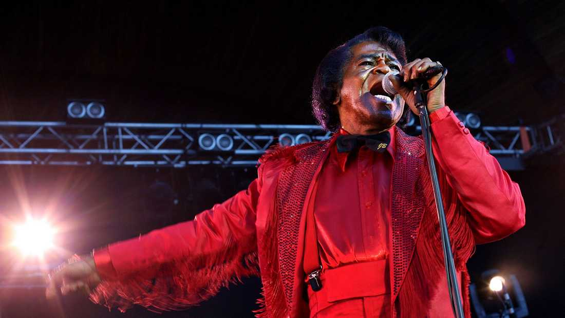 James Brown.