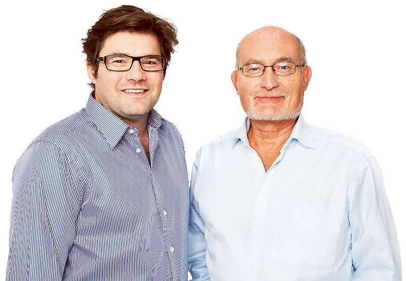 Jan Helin, chefredaktör Aftonbladet, och Kalle Jungkvist, chefredaktör aftonbladet.se.