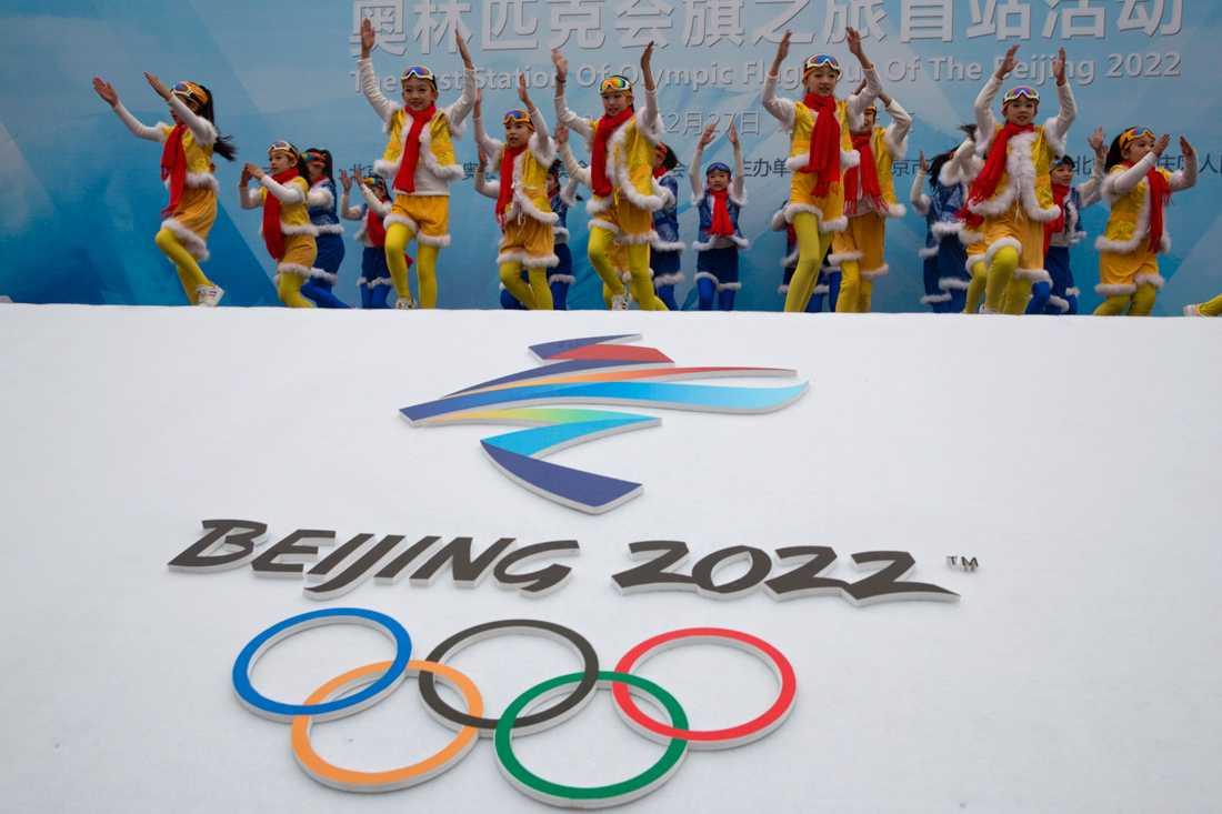Coronapandemin, eller politik, kan ställa till problem för vinter-OS i Peking 2022. Arkivbild.