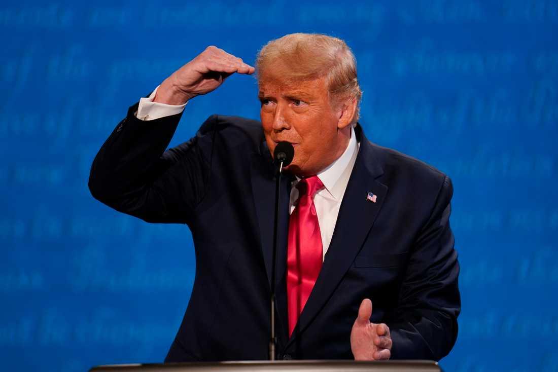 USA:s president Donald Trump under debatten.