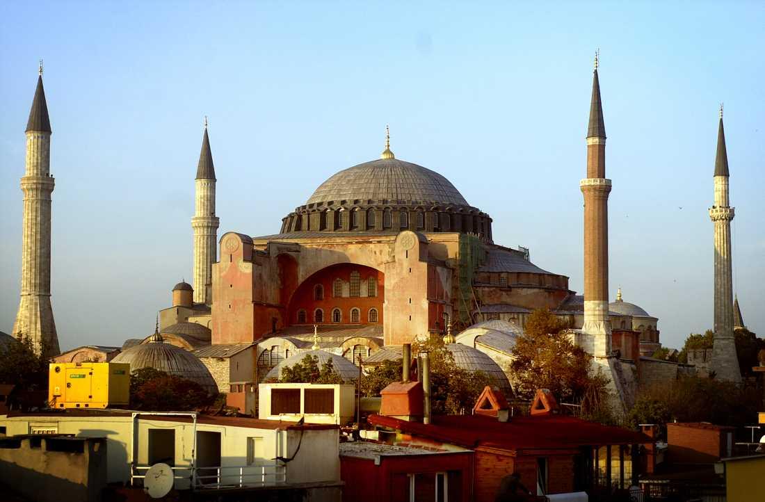 Hagia Sofia i Istanbul kommer troligen att bli moské igen.