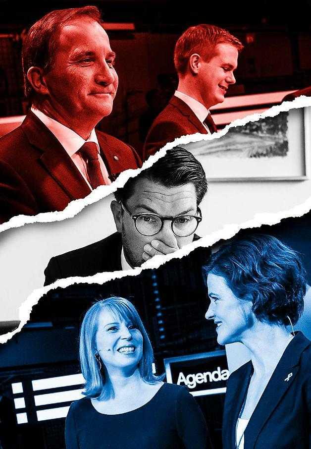 Svensk politik har urartat till ett ständigt passande. Alliansen kollar på de rödgröna, de rödgröna lurpassar på Alliansen. Och båda blocken sneglar mot Sverigedemokraterna.