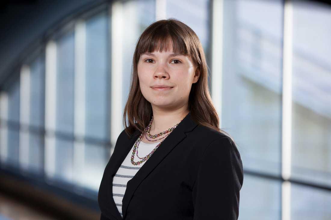 Annika Hirvonen Falk, rättspolitisk talesperson (MP)