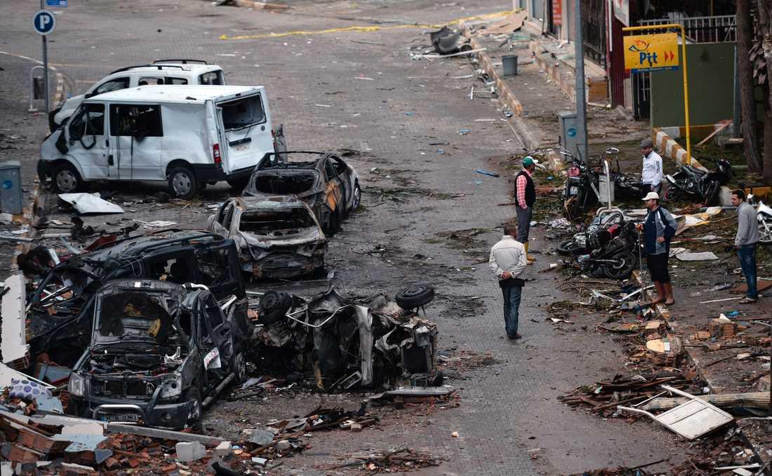 Mannen döms för att ha arrangerat en attack i turkiska Reyhanli 2013. Totalt 52 personer dog.