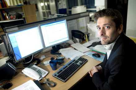 Björn Sellström, chef för rikskriminalens barnporrutredare. Foto: EIVIND VOGEL-RÖDIN