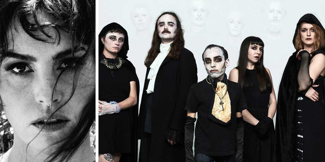 På rockaren Emma Ruth Rundles och metalaktens Thous samarbetsalbum möts vemod och vrede i flera sammandrabbningar.