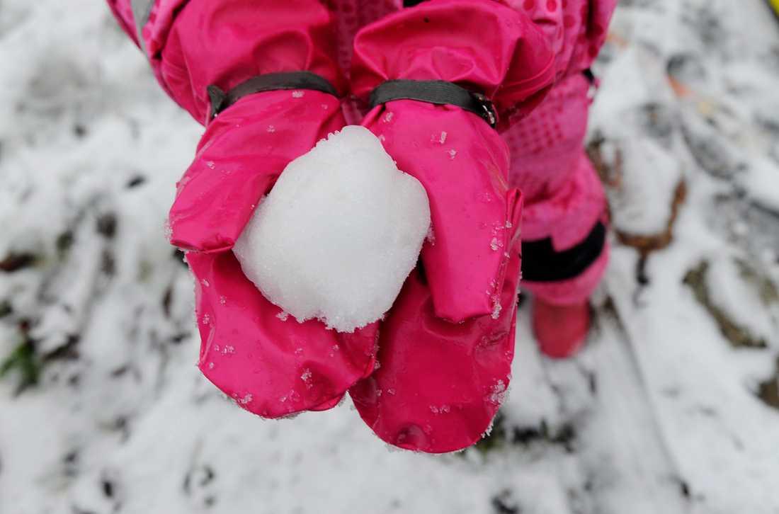 En annan snöboll. Arkivbild.