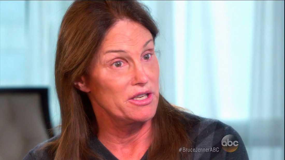 Bruce Jenner i ABC News intervju.