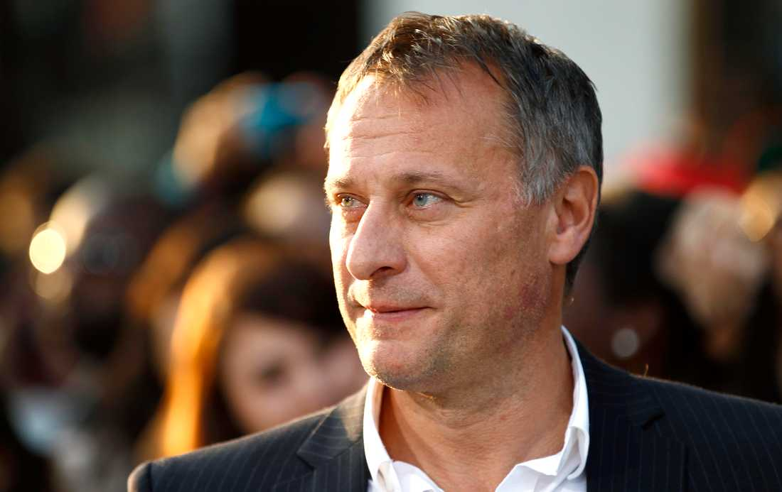 "Michael Nyqvist på röda mattan i Los Angeles inför premiären av ""Abduction"" i september 2011."