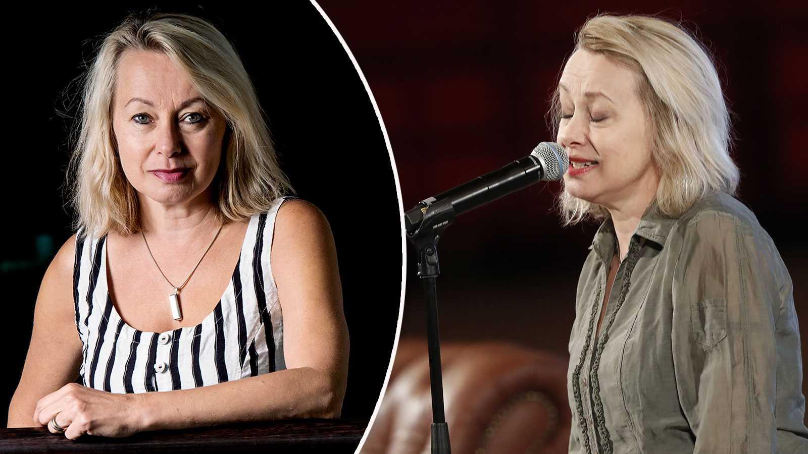 "Louise Hoffsten trotsar isoleringen: ""Jag ville sjunga"""