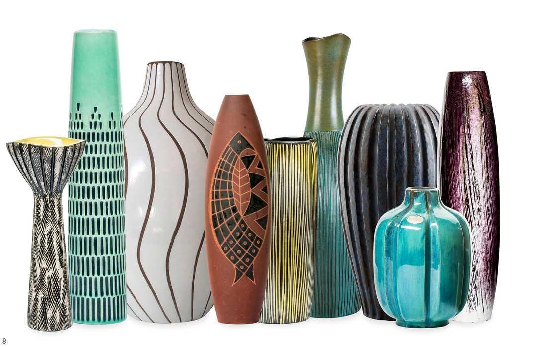Upsala-Ekeby gjorde en uppsjö av vaser.