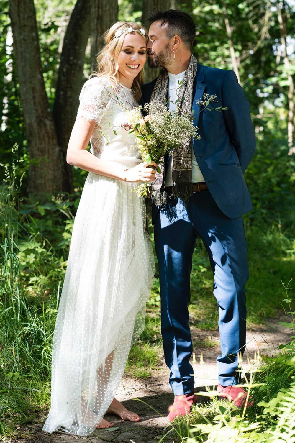 Karl Martindahl gift med sin Anna.