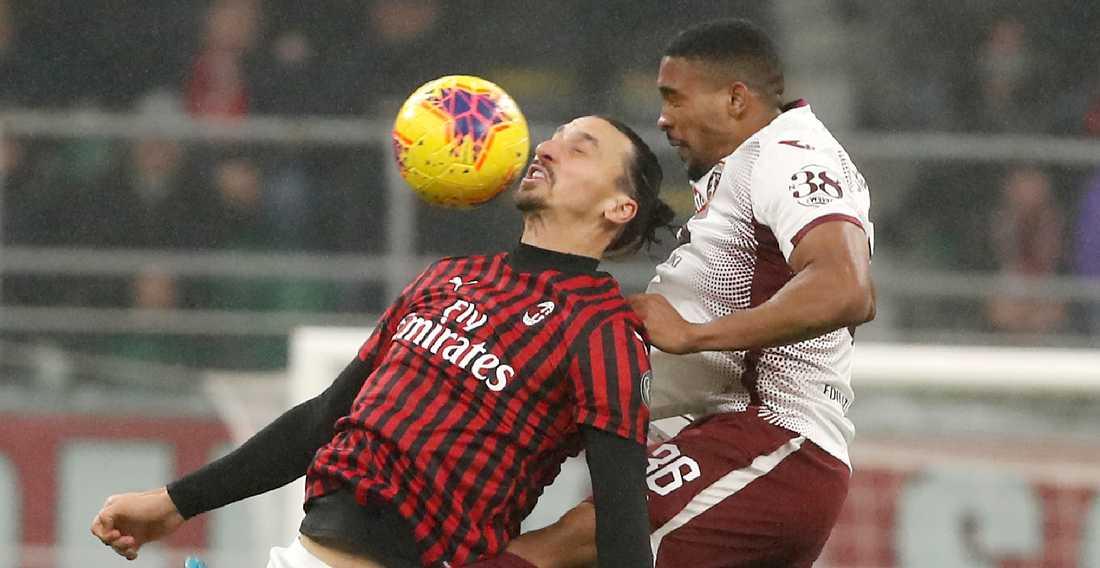 Zlatan mållös när Milan vann.