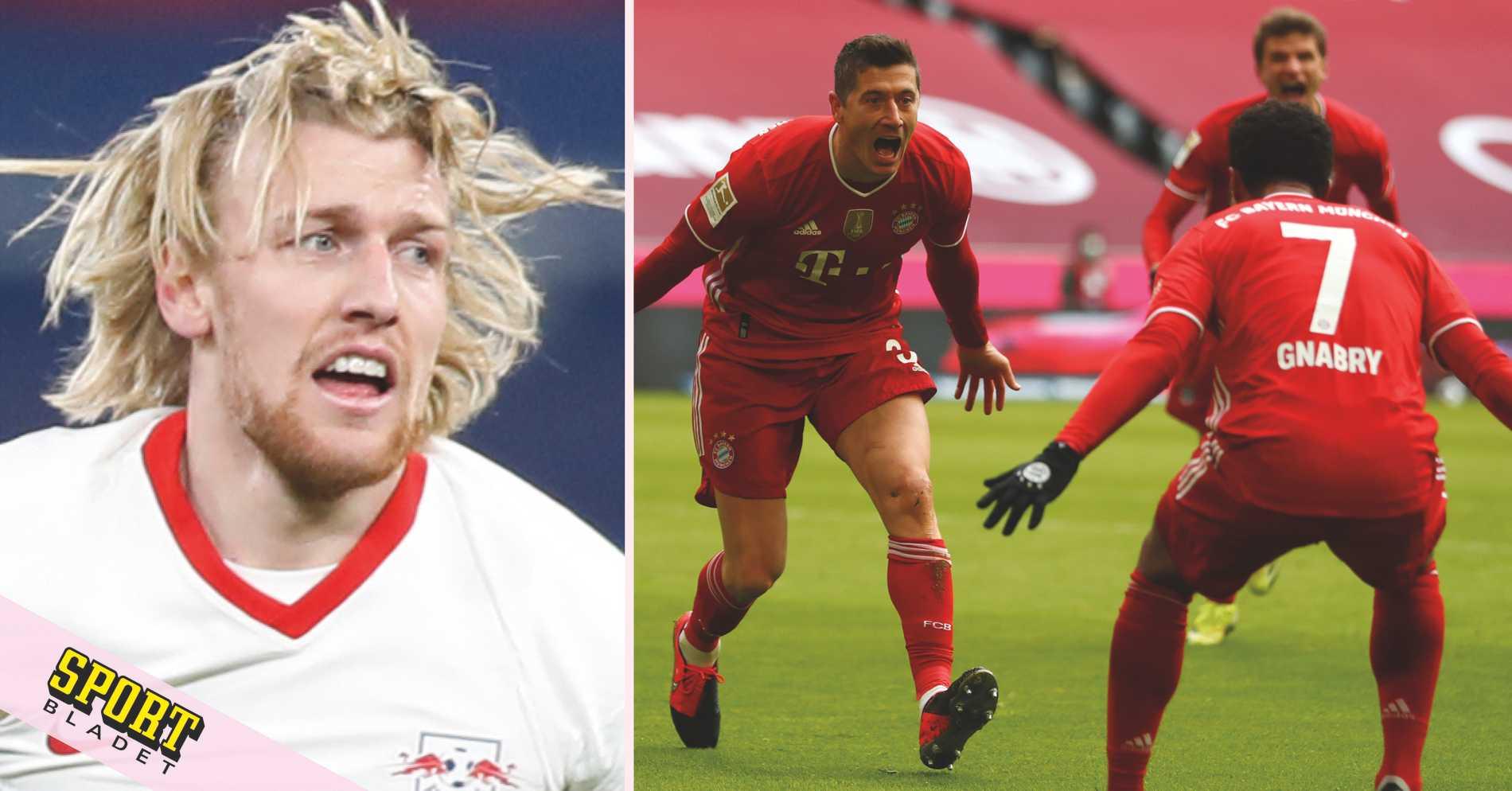 Uppgifter: Forsberg på väg till Bayern