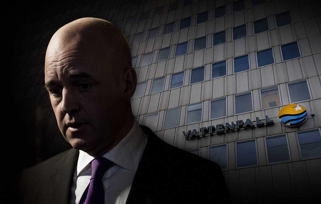 Fredrik Reinfeldt säger att han inte kände till 97-miljardersuppköpet av holländska Nuon. OBS : MONTAGE