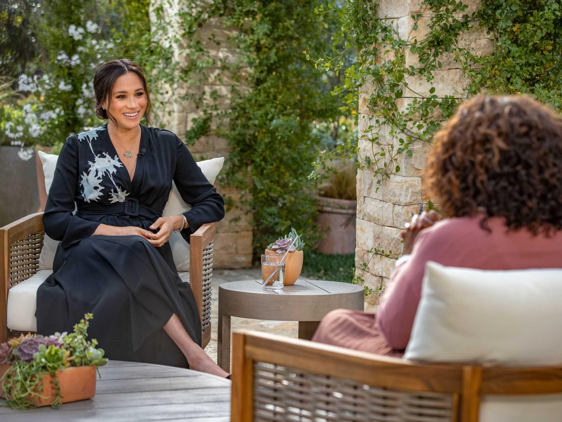 Meghan Markle intervjuades av Oprah Winfrey.
