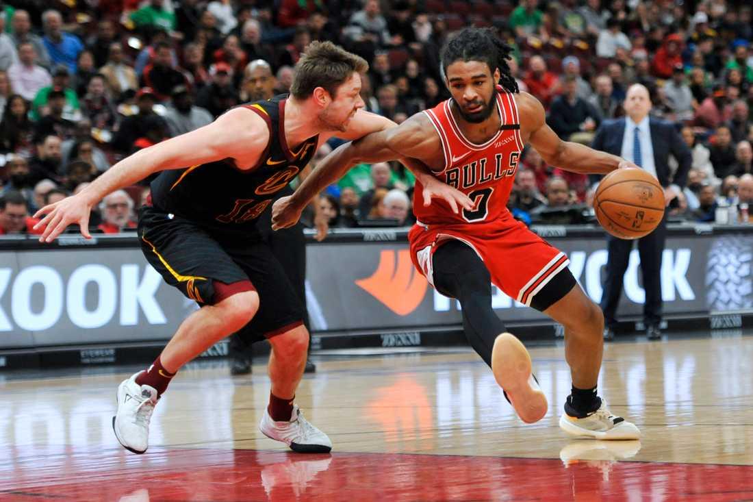 Hoppet lever om att kunna återstarta NBA-säsongen. Arkivbild.