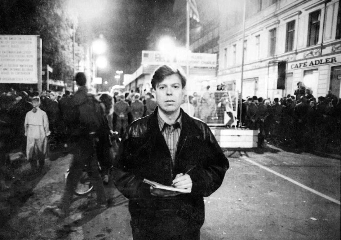 Aftonbladets Wolfgang Hansson var på plats när Berlinmuren öppnades.