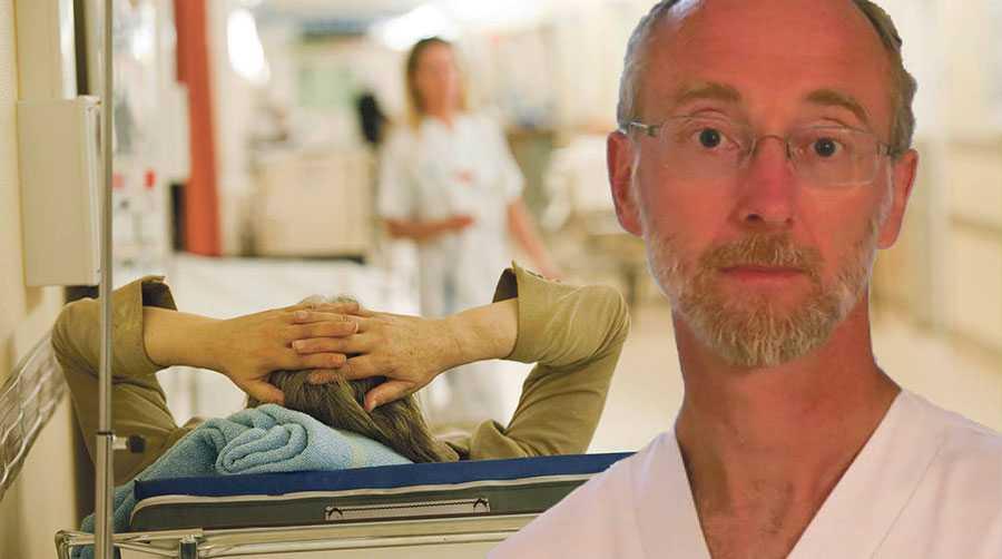 Vården måste bli säkrare för patienterna och äldrevården behöver stärkas. Det är två problemområden som debattören Jonas Ludvigsson pekar ut.