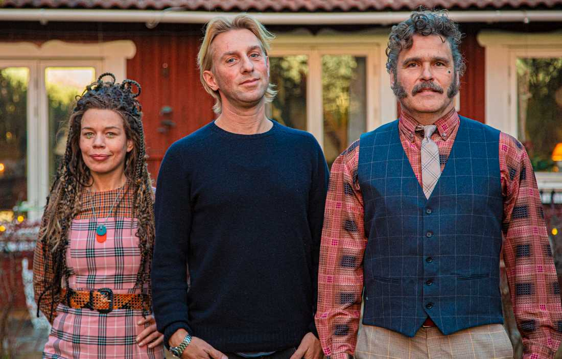 Framtiden? Lotta Lundgren, psykiatrikern Anders Hansen och Erik Haag.