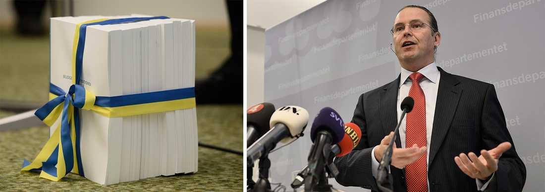 Borg på presskonferensen.