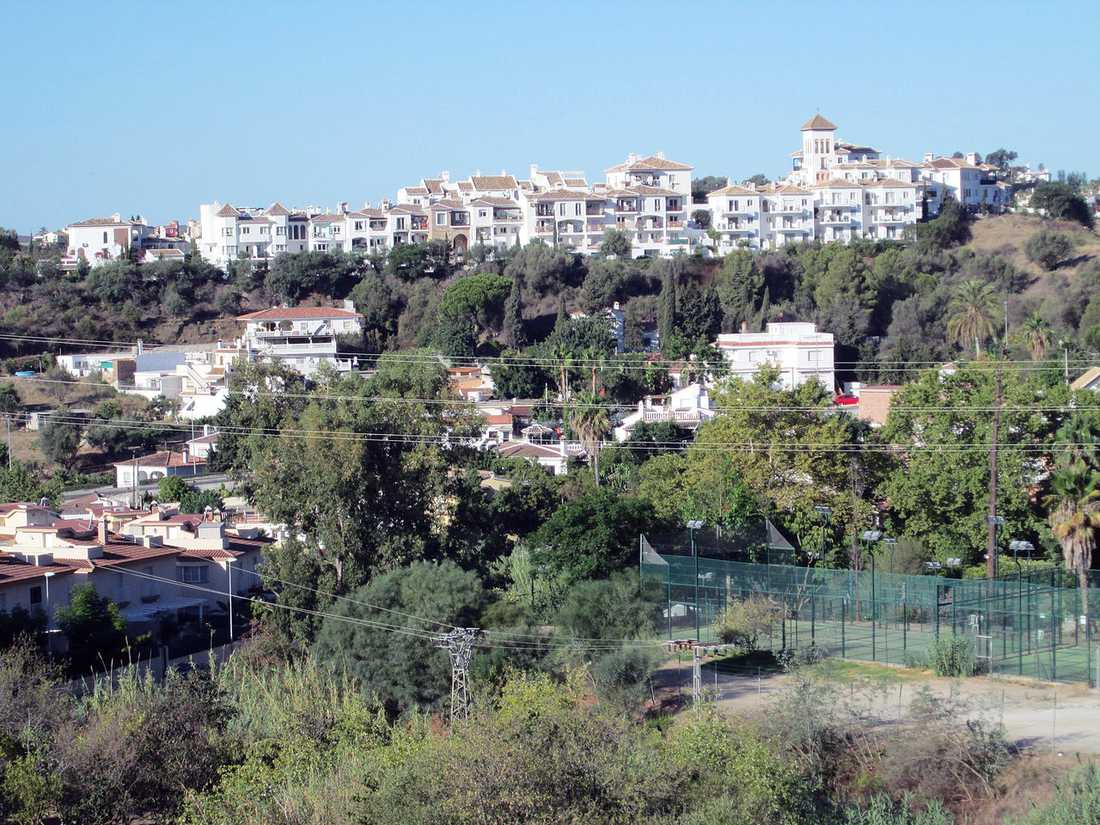Morden skedde i staden Mijas i Spanien.