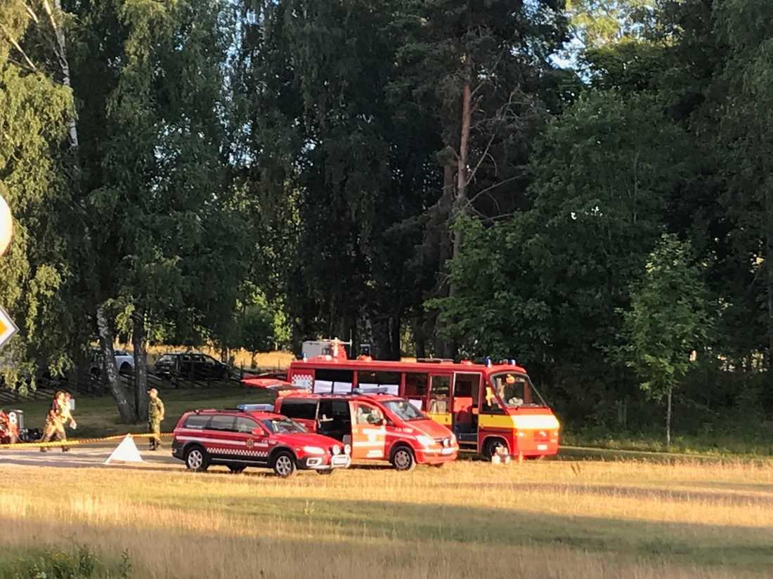Räddningstjänsten i Finnerödja.