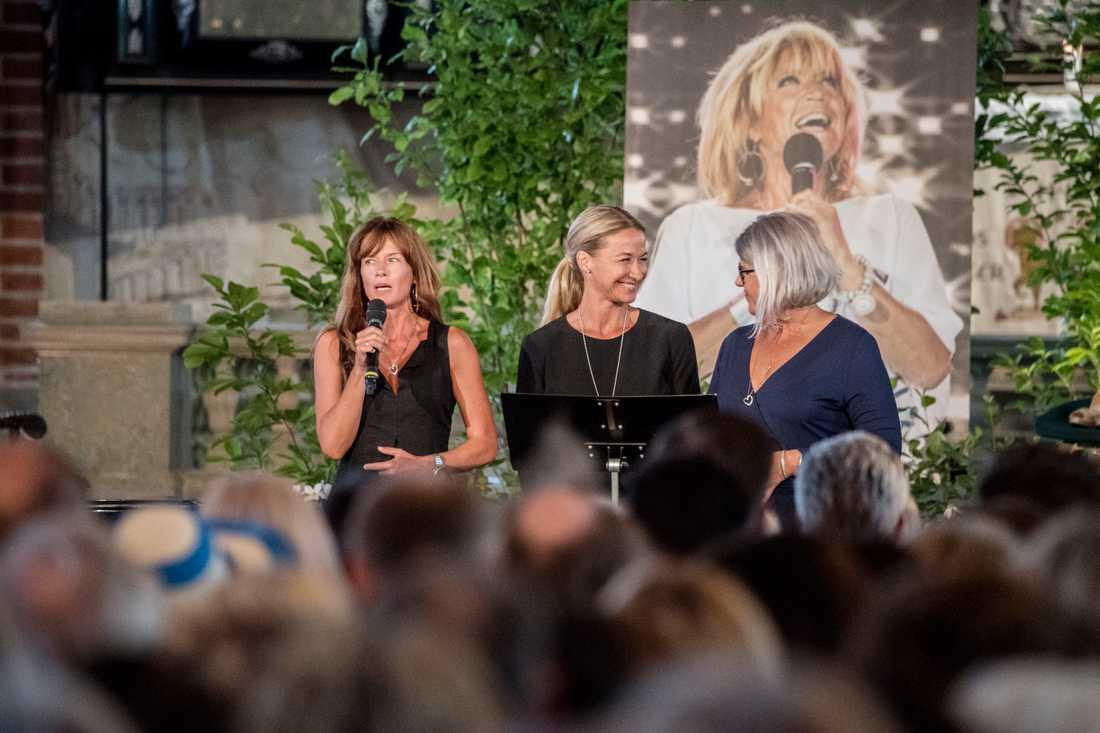 Minnesstund för Lill-Babs i Stockholm undersöndagen.