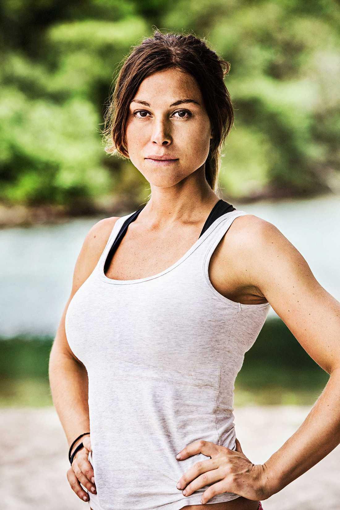 Melissa Miller, 28 år, Borlänge. Arbetar som fjäll- och äventyrsledare.