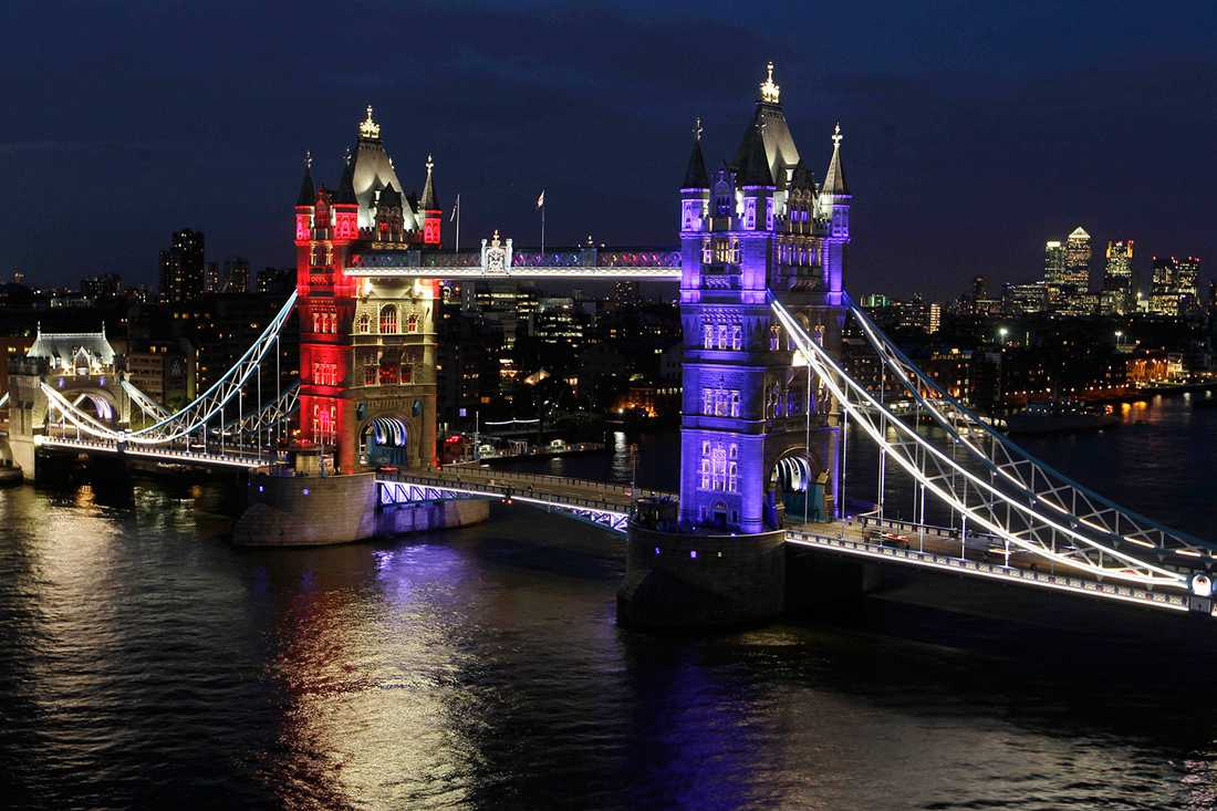 VÄRLDENS MEST BESÖKTA STAD Enligt Mastercards 2014 Global Destinations Index är London den stad i världen som tar emot flest utländska besökare, 18,7 miljoner.