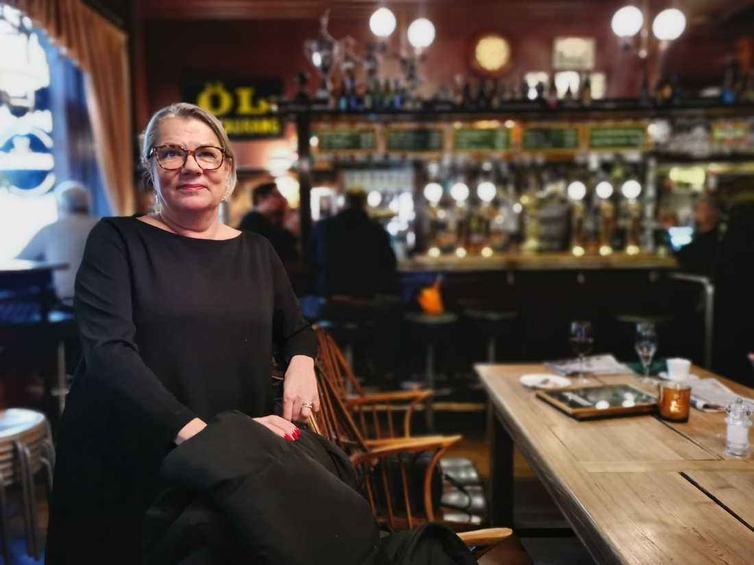 Bullenprofilen Petra Jansson driver restaurangens ständigt växande Facebookgrupp.