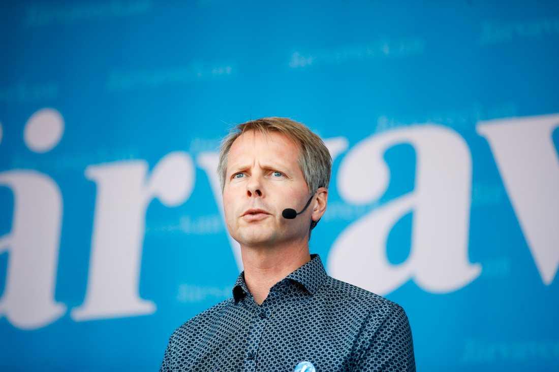 Christer Nylander (L), ordförande i kulturutskottet, anser inte att Sverigedemokraternas förslag att kalla in chefer från SVT och SR till kulturutskottet för att diskutera vad SD kallar för bristande opartiskhet är en bra idé. Arkivbild.