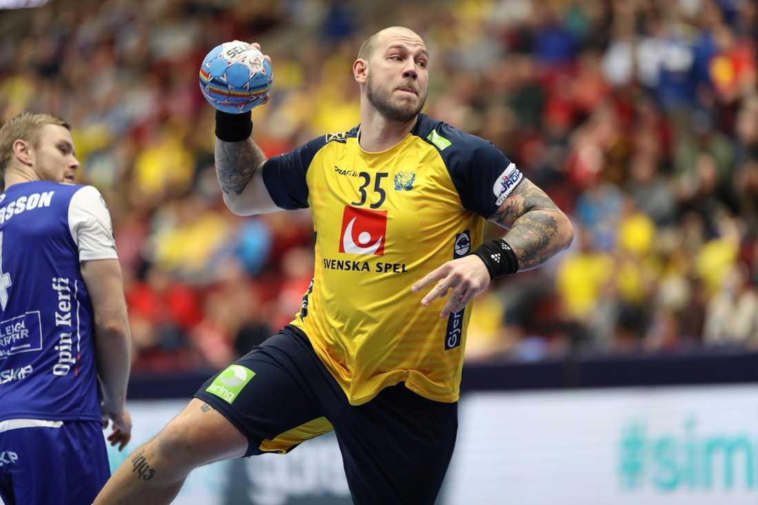 Andreas Nilsson spelar inte VM med Sverige i januari. Arkivbild.