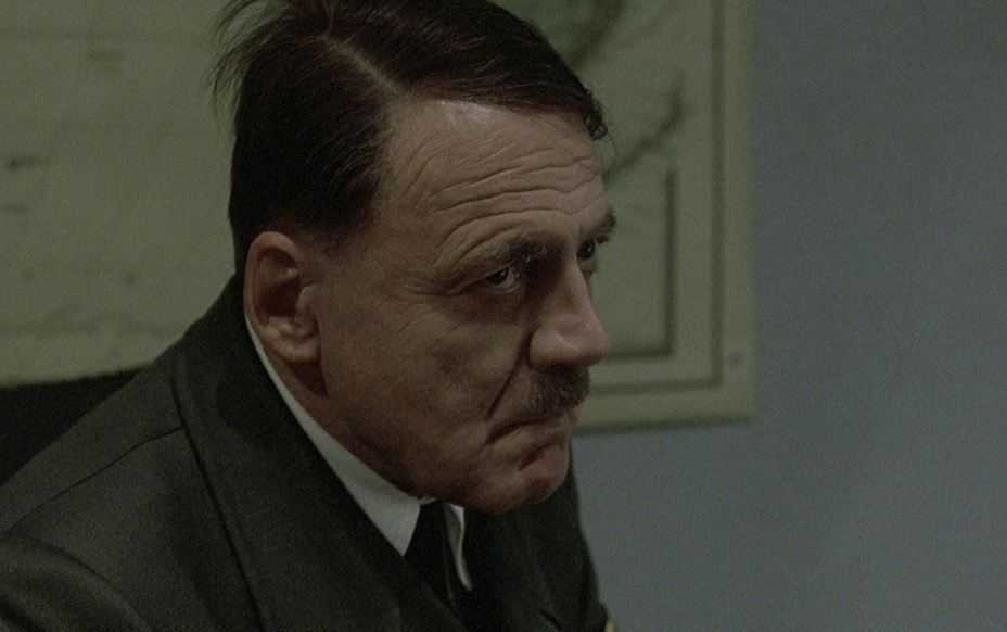 Bruno Ganz i filmen Undergången.