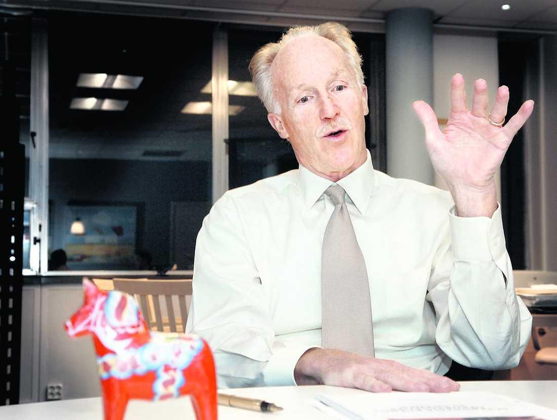 USA:s tidigare ambassadör i Stockholm, Michael Wood.