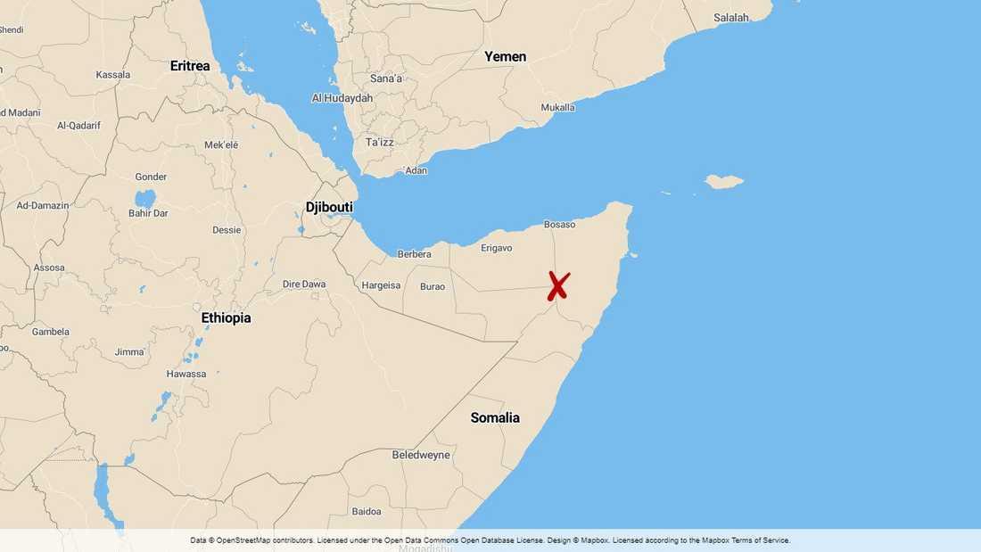 Puntland i Somalia.