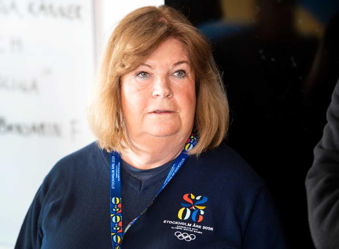 Gunilla Lindberg, Sveriges IOK-veteran.