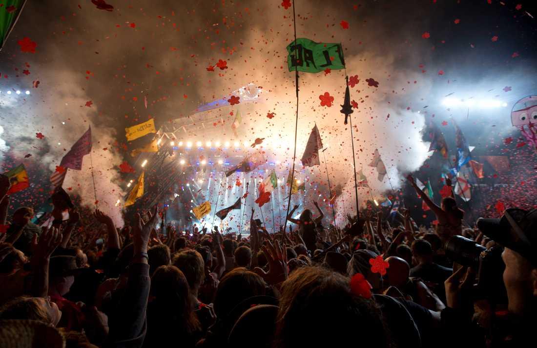 Glastonburyfestivalen ställs in för andra sommaren i rad. Arkivbild.